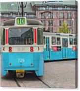 Gothenburg Public Tram Canvas Print
