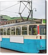 Gothenburg Tram Car Canvas Print