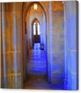 Gothic Arch Hall Canvas Print