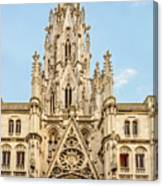 Gothic Cathedral In Havana Canvas Print