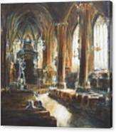 Gothic Church Canvas Print