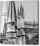 Gothic Detail  Canvas Print