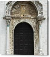 Gothic Entrance Canvas Print
