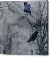 Gothic Gray Wash  Canvas Print