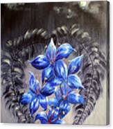 Gothic Lily's 1 Canvas Print