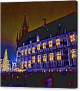 Gouda By Candlelight-1 Canvas Print