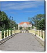 Governor Mansion In Battambang Cambodia Canvas Print