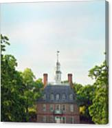 Governor Palace - Williamsburg Canvas Print