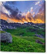 Governor's Basin Sunset Canvas Print