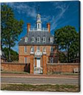 Governor's Palace Canvas Print