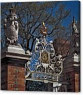 Governor's Palace Gate Detail Canvas Print