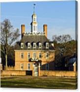Governor's Palace Williamsburg Canvas Print