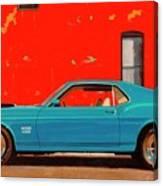 Grabber Blue Boss Canvas Print