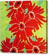 Grace Flowers Canvas Print