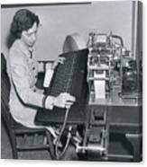 Grace Hopper, American Computer Scientist Canvas Print