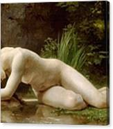 Grace In Nudity Canvas Print