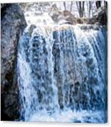 Grace Is A Waterfall Canvas Print