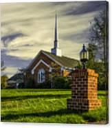 Grace United Methodist Church Canvas Print