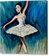 Graceful Dance Canvas Print