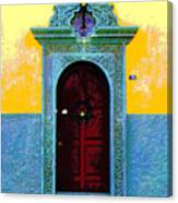 Graceful Door By Darian Day Canvas Print