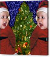 Gracies Christmas Tree Canvas Print