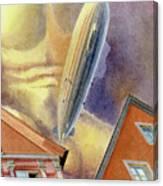 Graf Zeppelin Canvas Print