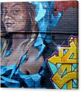 Graffiti 19 Canvas Print
