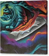 Graffiti 2 Canvas Print