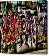Graffiti 3 Canvas Print