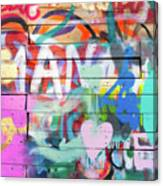 Graffiti 4 Canvas Print