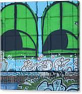 Graffiti #5781 Canvas Print