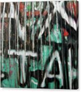 Graffiti Abstract 1 Canvas Print