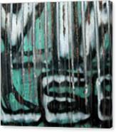 Graffiti Abstract 2 Canvas Print
