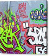 Graffiti Art 05102017a Canvas Print