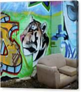 Graffiti Art Albuquerque New Mexico 7 Canvas Print
