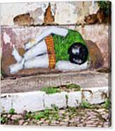 Graffiti Art Lencois Brazil Canvas Print