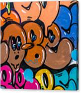 Graffiti Art Nyc 10 Canvas Print