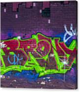Graffiti Art Nyc 2 Canvas Print