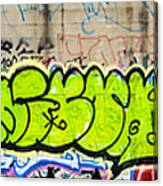 Graffiti Art Nyc 3 Canvas Print