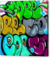 Graffiti Art Nyc 8 Canvas Print