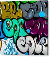 Graffiti Art Nyc 9 Canvas Print