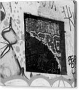 Graffiti At Fountain Grove Winery Canvas Print