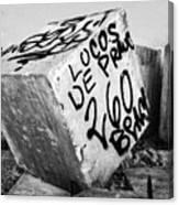Graffiti Block Canvas Print