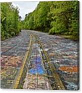Graffiti Highway, Facing North Canvas Print