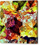 Graffiti Style - Markings On Colors Canvas Print