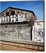 Graffiti Wall Canvas Print