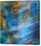 Graffitis Time Canvas Print