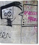 Graffitti Canvas Print
