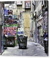 Grafitti Alley Canvas Print