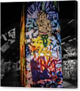 Grafitti Tunnel Canvas Print